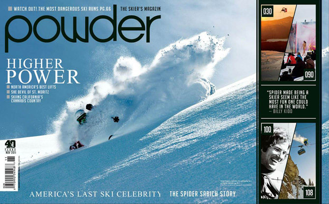 Powder cover