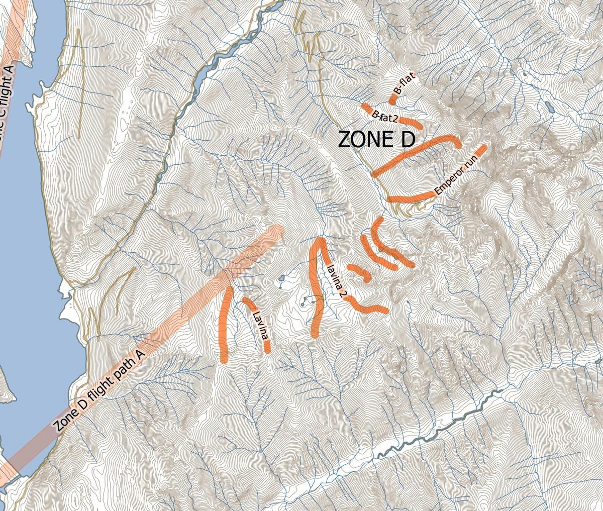 Purcell Mountains Lavina Zone - Stellar Heliskiing in BC's Kootenay region.
