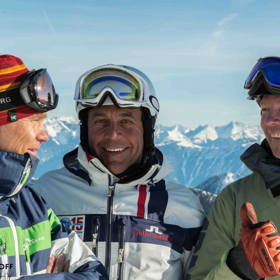 All Smiles for Stellar Heli Skiing partners