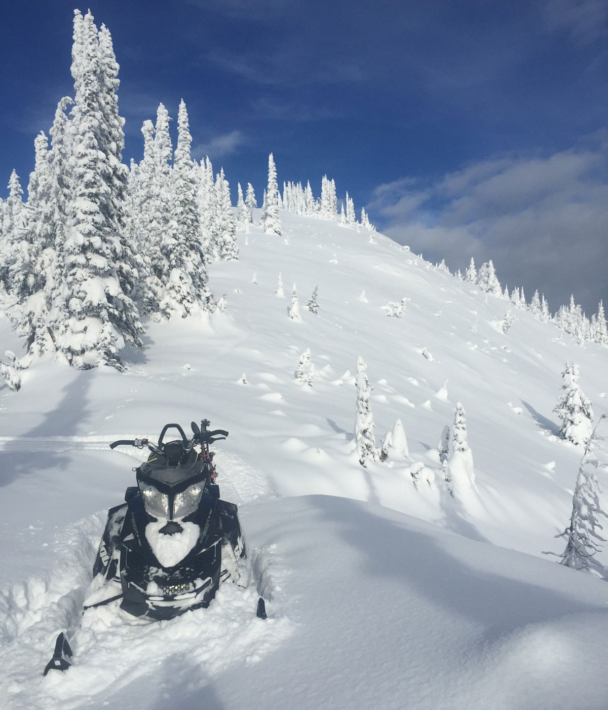 The second big storm of the season brought 33cm of fresh snow to the Kootenays