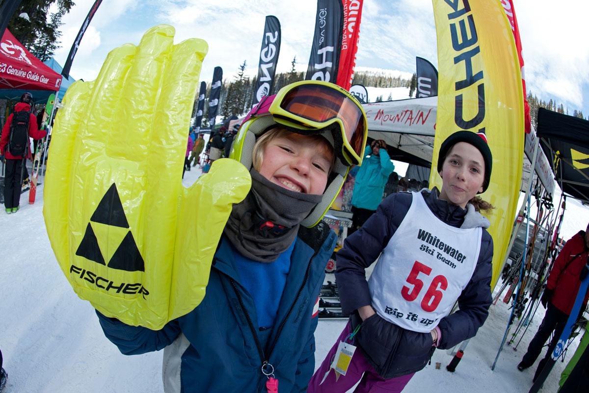 Kids stoked on ski festival in Nelson, BC