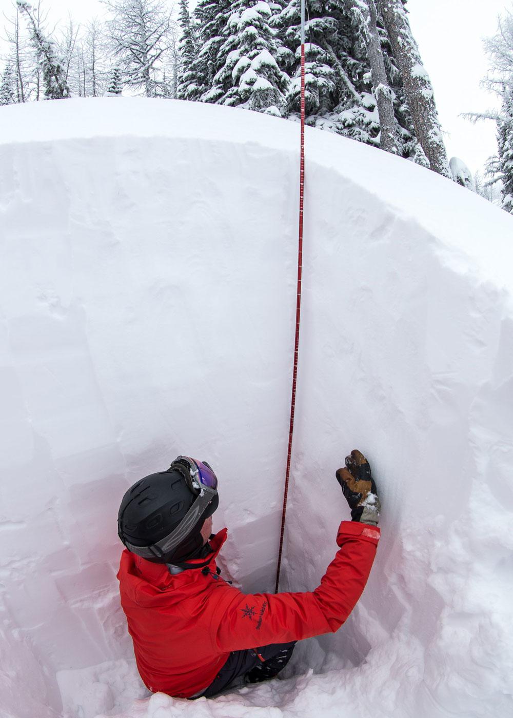 Kootenay Snowcheck from Stellar Heliskiing in Kaslo, BC